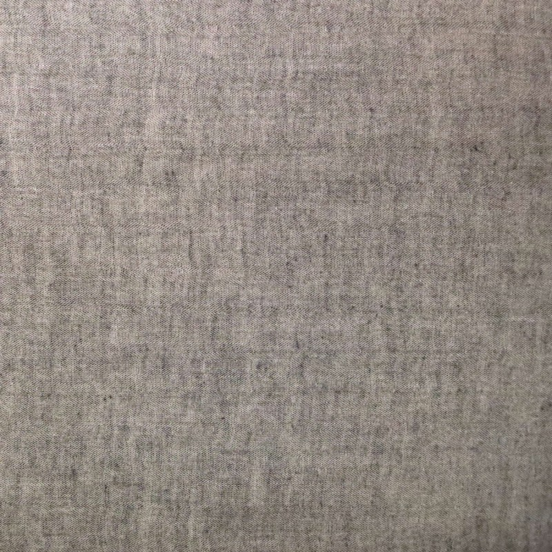 Double gauze fabric black chambray color
