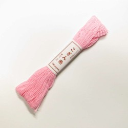 Fil rose layette pour broderie kogin 18m