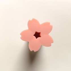 Gomme fleur de cerisier rose clair
