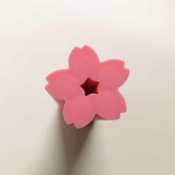 Gomme fleur de cerisier rose foncé