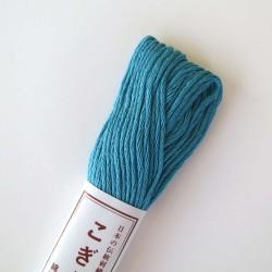 Fil bleu sarcelle pour broderie kogin 18m