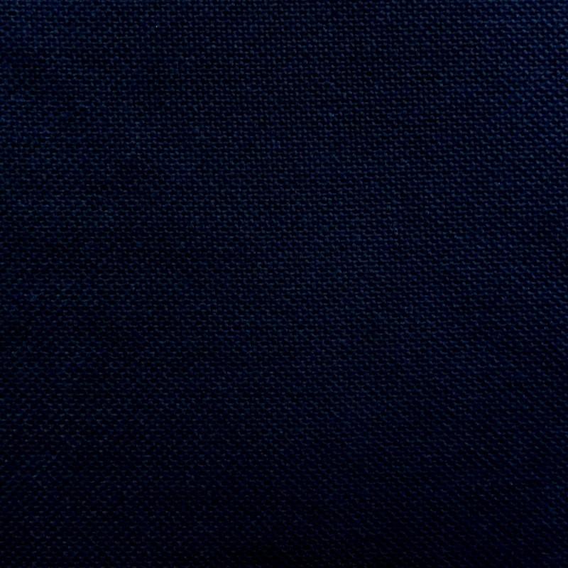 Toile japonaise noire pour broderie kogin (coupon : 44cm x 50cm) (épaisse)