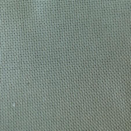 Toile japonaise vert sauge pour broderie kogin (coupon : 44cm x 50cm) (épaisse)