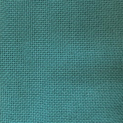 Toile allemande vert pin pour broderie kogin (coupon : 70cm x 50cm)