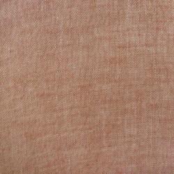Tissu double gaze unie rouge style chambray