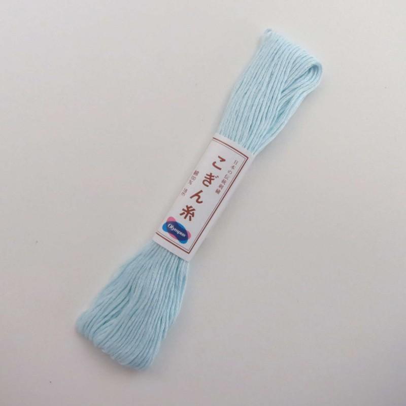Fil bleu layette pour broderie kogin 18m (362)