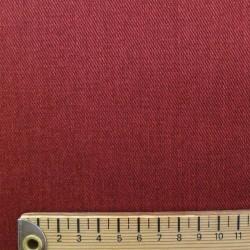 Tissu denim rouge