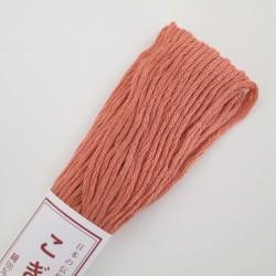 Fil beige rosé pour broderie kogin 18m (364)