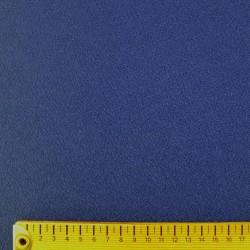 Tissu chirimen bleu outremer foncé uni