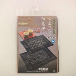 Kit sashiko 1 set de table motifs shippô