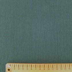 Toile coton bleu canard foncé pour sashiko