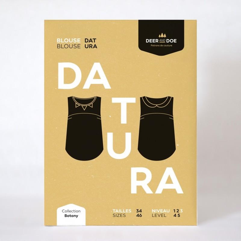Patron de couture blouse Datura - marque Deer and Doe
