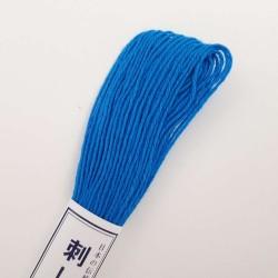 Fil bleu roi pour sashiko 20m (25)