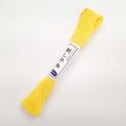 Fil jaune citron pour sashiko 20m (29)