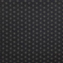 Japanese dark blue asanoha fabric