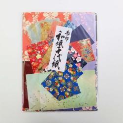 Pochette surprise de papiers japonais