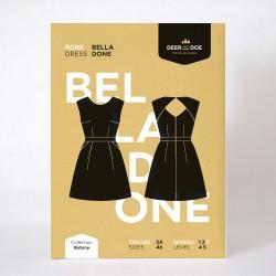 Patron de couture robe Belladone - marque Deer and Doe
