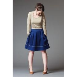Patron de couture jupe Chardon - marque Deer and Doe