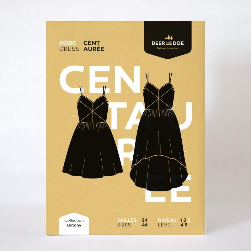 Patron de couture robe Centaurée - marque Deer and Doe