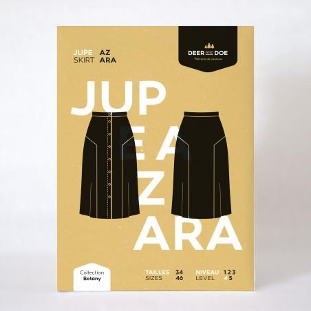 Patron de couture jupe Azara - marque Deer and Doe