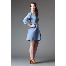Patron de couture robe Sureau - marque Deer and Doe