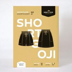 Patron de couture short/jupe Goji - marque Deer and Doe