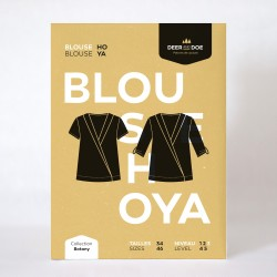 Patron de couture blouse Hoya - marque Deer and Doe