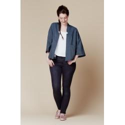 Patron de couture veste kimono Nénuphar - marque Deer and Doe