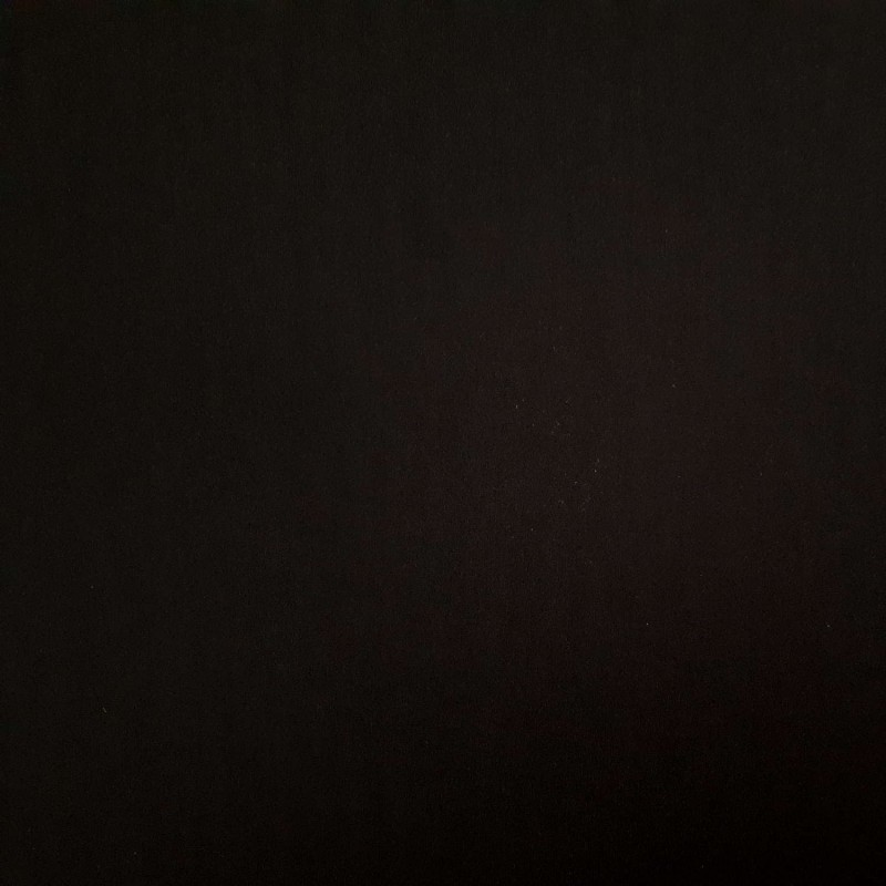 Tissu maillot de bain noir uni