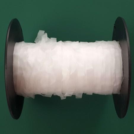 Laminette (lastin) transparente 6mm large vendue au mètre
