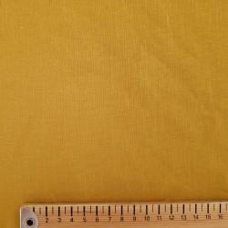 Lin lavé jaune moutarde (largeur 140cm)