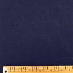Lin lavé bleu nuit indigo (largeur 140cm)