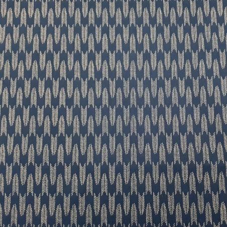 Tissu japonais bleu nuit flèches Sevenberry