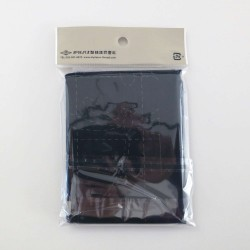 Coupon tissu sashiko indigo pré-imprimé libellules