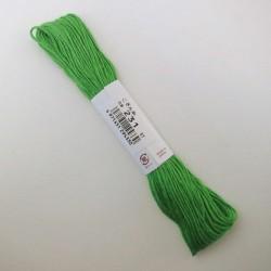 Fil vert pomme pour broderie kogin 18m (231)