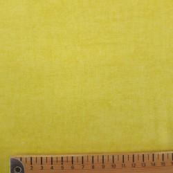 Tissu faux uni jaune citron