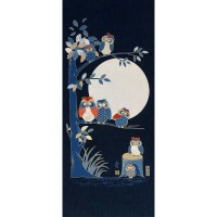 Japanese fabrics panels