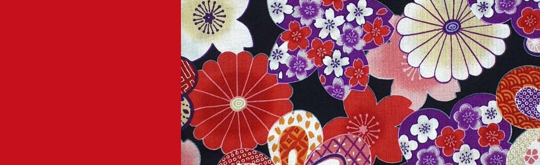 Tissus japonais au mètre ou en coupons